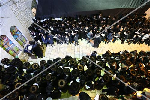 Prayer in Meron