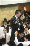 Sefer Torah at Kol Ya'akov in the Bait Vagan in Jerusalem, headed by Rabbi Yehudah Ades