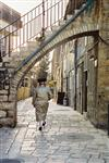 An interesting daily life routine in Jerusalem