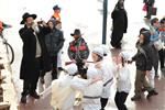 Children celebrate Purim with costumes and disguises