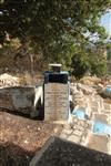 The old cemetery on the slopes of the Old Town in Safed